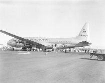 Image of United States Navy Aircraft at SFO, 1950