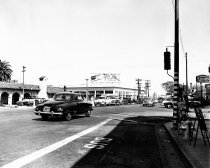Image of California Drive at Buringame Avenue, 1948