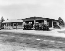 Image of Dedication of Burlingame Fire Station No. 2 , 1949