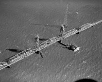 Image of San Francisco Bay Toll Bridge, 1957