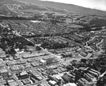 Image of 2015.001.00706.2 - Aerial View of Downtown San Mateo, 1957