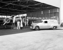 Image of 2015.001.01273.2 - Bay Aviation Services at San Francisco International Airport, 1960