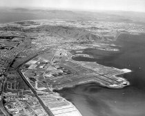 Image of 2015.001.01771.4 - Aerial View from San Francisco International Airport (SFO), 1961