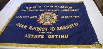 Image of Veterans of Foreign Wars Banner, n.d (back)
