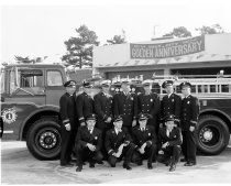 Image of 2015.001.02462.1 - Daly City Fire Department on 50th Anniversary, 1961