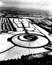 Image of Golden Gate National Cemetery Under Snow, 1962
