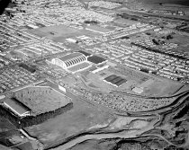 Image of 2015.001.02804.1 - Aerial View of Cow Palace in Daly City, 1962