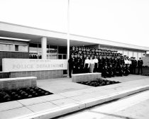Image of San Mateo Police Department on Delaware Street, 1962