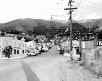 Image of 2015.001.03133.1 - Visitacion Avenue in Downtown Brisbane, 1962