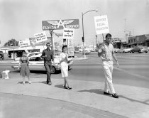 Image of Redwood City Anti-Segregation Protest, 1963