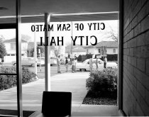 Image of Civil Rights Protesting at San Mateo City  Hall, February 1964