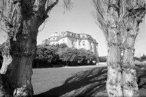 Image of 2015.001.05235.10 - Carolands Chateau in Hillsborough Looking West, 1964
