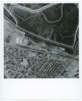 Image of Untitled (Aerial Photograph over Raychem Headquarters), c. 1957-1975
