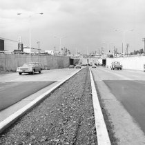 Image of El Camino Real Underpass Near Hillsdale Shopping Center, 1965