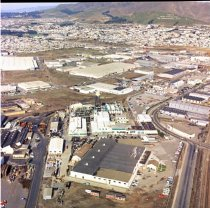 Image of Aerial View of San Bruno Industrial Park, 1965