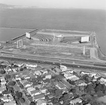 Image of Burlingame and Peninsula Drive-in Theaters, 1965