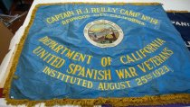 Image of Captain H.J. Reilly Camp No. 14 Banner