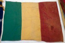 Image of Mali or Guinea Red, Yellow and Green Striped Flag, n.d.