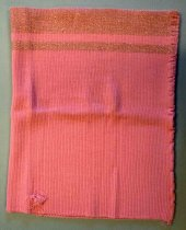 Image of Pink Knit Cloth Fragment