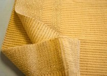 Image of Yellow Knit Fabric Fragment