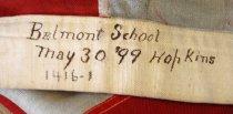 Image of Belmont School U.S. Flag, 1899