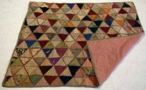 Image of Triangle Baby Quilt, c. 1870