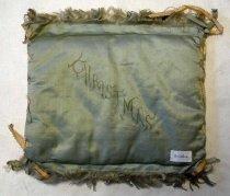 Image of Christmas Pillow, c. 1850s