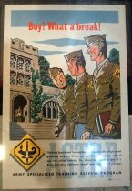 Image of Army Specialized Training Reserved Program Poster, November 13, 1944