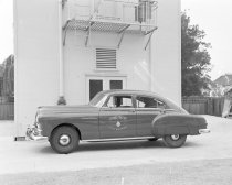 Image of Burlingame Fire Chief's Car, 1949