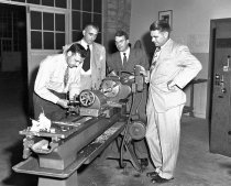 Image of Equipment for Shop Class at Burlingame High School, September 1949