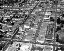 Image of 2015.001.00706.12 - Aerial View of Downtown San Mateo, 1957