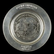 Image of Raychem Corporation Fuquay-Varina Commemorative Plate, 1982
