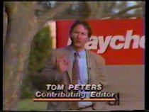 "Image of 2016.015.003.7 - Tom Peters Discusses Raychem, c. 1980s. 3/4"" U-matic video with two different recordings. NTSC encoding. The first recording shows a 4 minute television segment broadcast on May 8, 1984 with Tom Peters discussing the Raychem Corporation's management style. The second recording is 10 minutes 41 seconds and shows raw footage of a man wearing a black suit and a red tie providing information and sales tactics on HWAT electrical heat-tracing hot water plumbing systems.