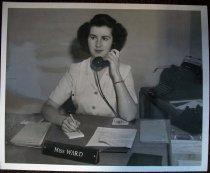 Image of Jean Ward Bone at Dibble Hospital, January 11, 1944