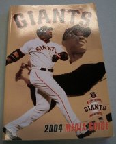 Image of 2017.001.003 - Giants 2004 Media Guide, 2004