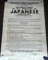 Image of San Mateo County Instructions to Japanese flyer, May 3, 1942