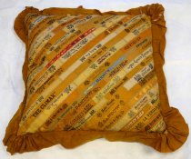 Image of Greer Family Cigar Band Pillow