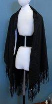 Image of Black Silk Shawl, n.d.