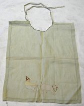 Image of Child's Linen Bib, n.d.