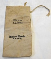 Image of Bank of America Deposit Bag, n.d.
