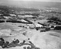 Image of Aerial of San Mateo Hills and City of San Mateo Looking North