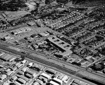Image of Aerial of South San Mateo Villa Hotel and El Camino Real