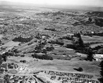 Image of 2015.001.00715.9 - Aerial of San Mateo Hills and City of San Mateo Looking South