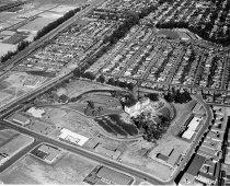 Image of Aerial Looking Southeast of Peninsula Hospital, Burlingame under Constructi