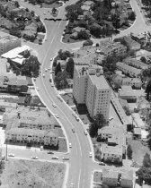Image of 2015.001.01683.1 - Aerial of West 3rd Avenue in San Mateo