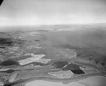 Image of Aerial of Redwood Shores and Brewer Island Looking Northwest, 1961