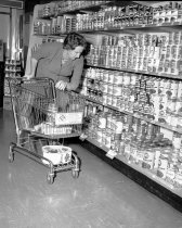 Image of 2015.001.02161 - Grocery Shopping at Purity Stores in Burlingame, 1961