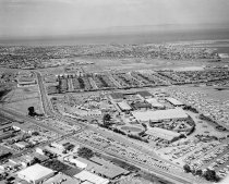 Image of Aerial of San Mateo County Fairgrounds Looking North, 1961