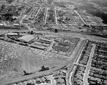 Image of 2015.001.02318.11 - Aerial of San Mateo County Fairgrounds Looking West, 1961