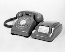 Image of Dialaphone Rotary Telephone, San Mateo, 1961